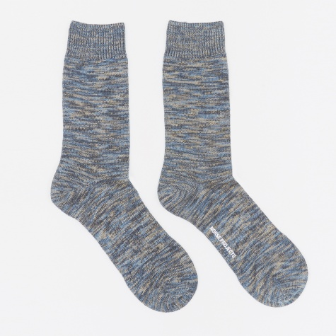 Bjarki Blend Socks - Ensign Blue