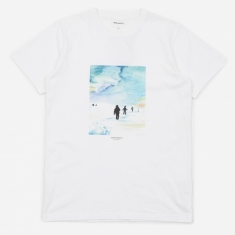 Norse Projects x Daniel Frost Trail T-Shirt - White