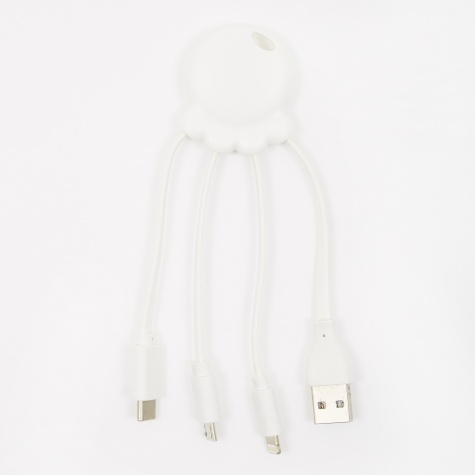 Octopus Cable - White