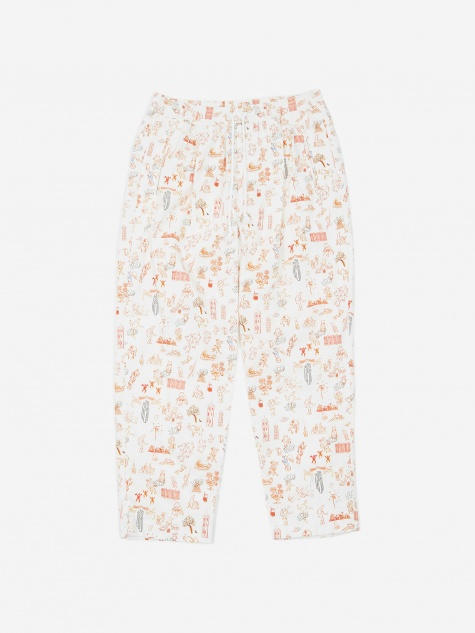 JohnUNDERCOVER Trouser - White Base