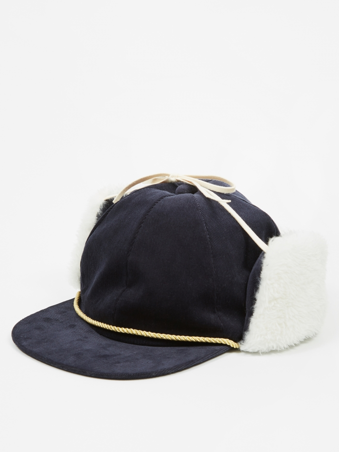 Undercover JohnUNDERCOVER Cap - Navy (Image 1)