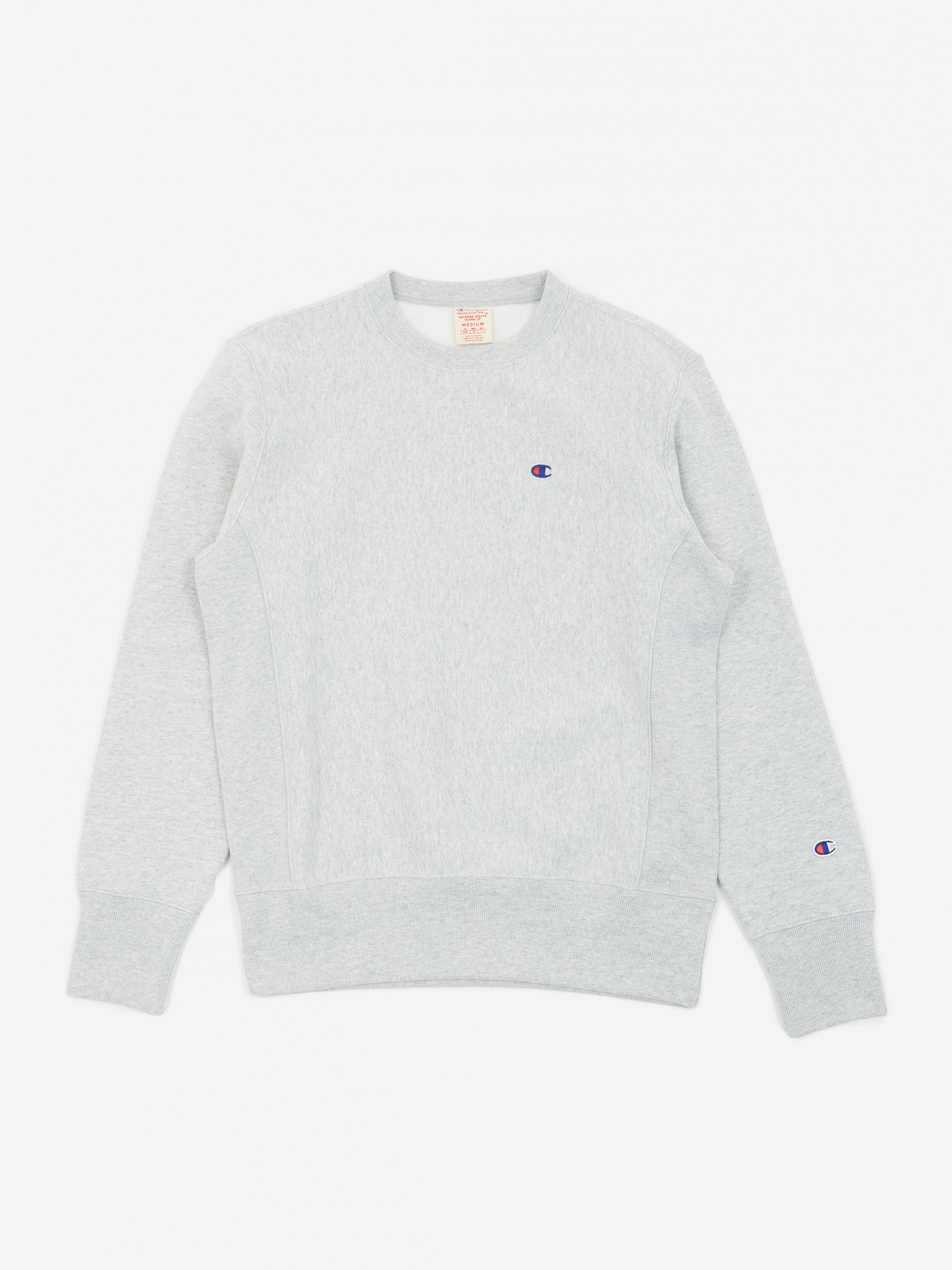 6bd6eb1f Champion Reverse Weave Crew Neck Sweatshirt - Grey