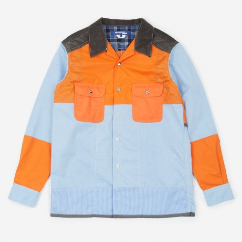 Oxford Shirt - Sax/Orange