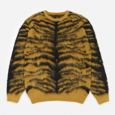 Tiger Mohair Sweater - Gold