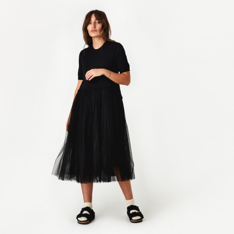 Two Piece Dress - Black
