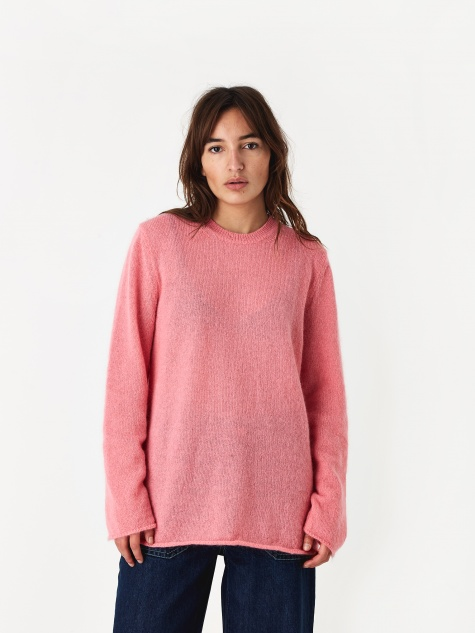 Mohair Pullover - Pink
