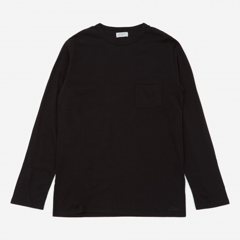 James Pima Longsleeve T-Shirt - Black