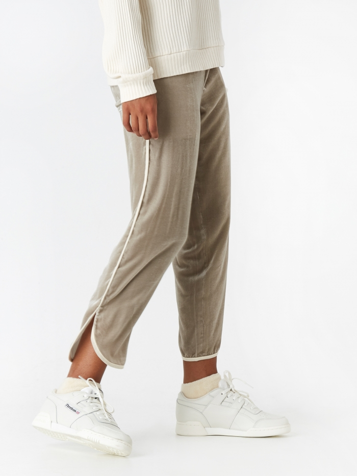 Jejia Claire Trouser - Light Grey (Image 1)