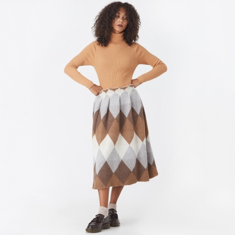 Kit Skirt - Argyle