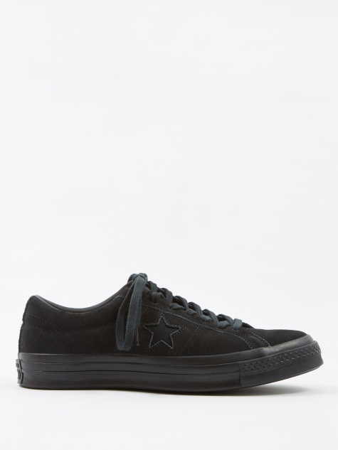 One Star Ox - Vintage Suede Black Mono