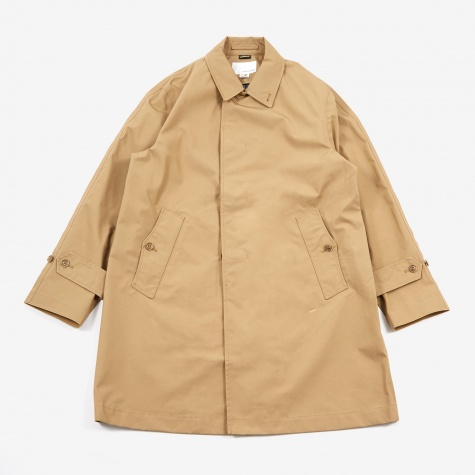 GORE-TEX Soutien Collar Coat - Beige