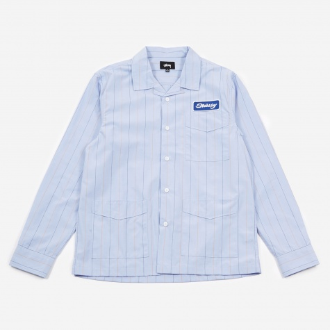 Longsleeve Work Shirt - Blue