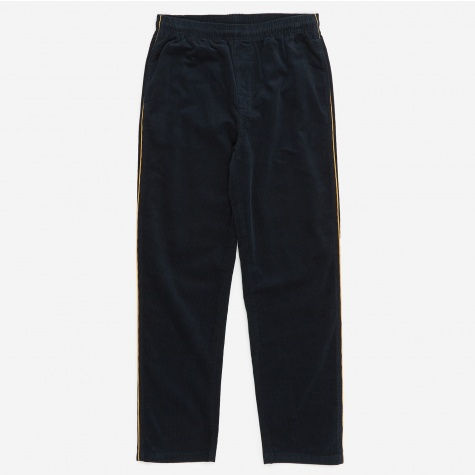 Side Piping Cord Pant - Navy