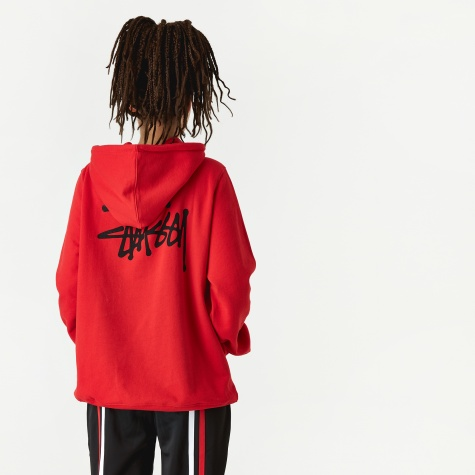 Scout Hooded Sweatshirt - Red