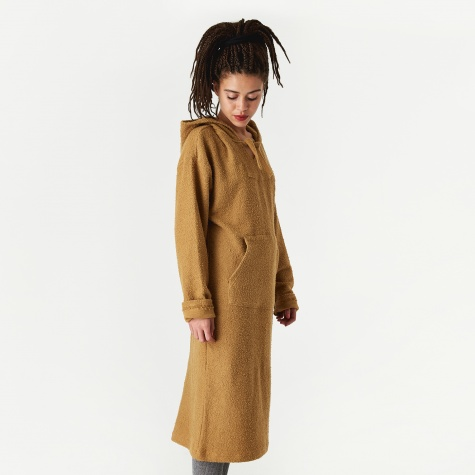 Aries Poncho Dress - Camel