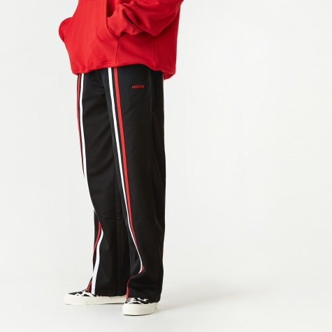 Rory Striped Track Pant - Black