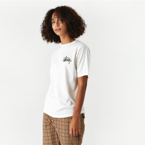 Basic Logo Pig Dyed T-Shirt - Natural