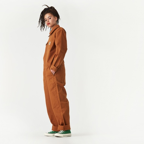 Herringbone Coverall - Brown