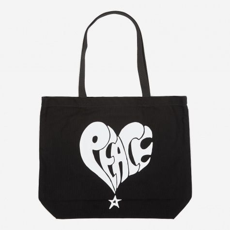 Peace Tote Bag - Black