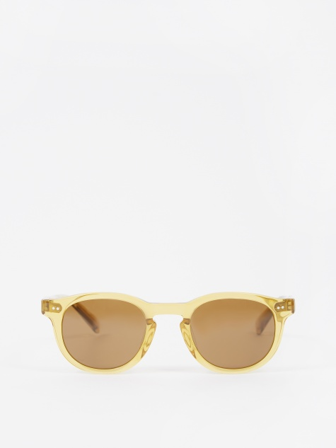 Romeo Sunglasses - Beige/Brown Lens