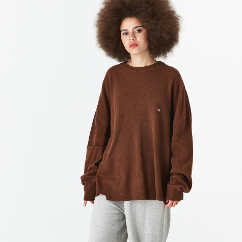 Knitted Jumper - Brown