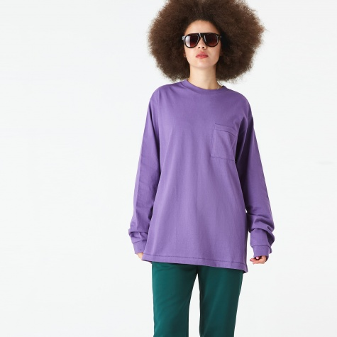 Long Sleeve T-Shirt - Purple