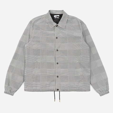 Igor Coach Jacket - Grey Check