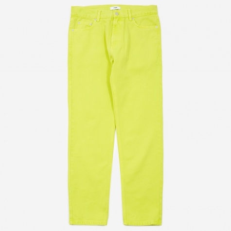 Jaxon 5 Pocket Denim - Acid Yellow