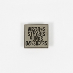 Goods by Goodhood Weirdos Pin Badge