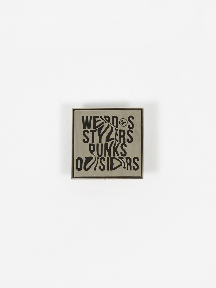 Goods By Goodhood Weirdos Pin Badge (Image 1)