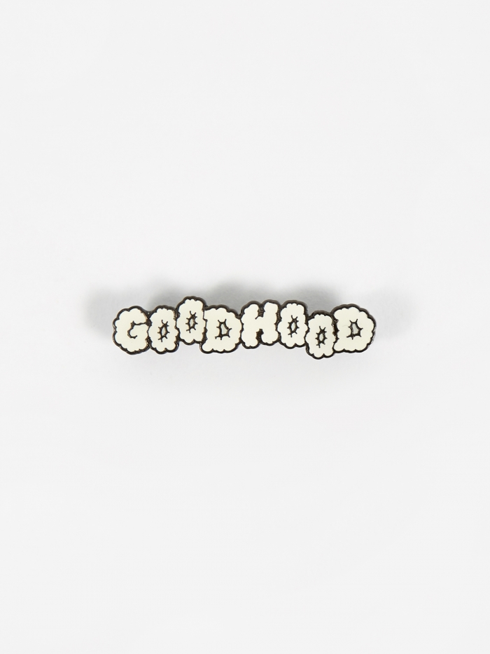 Goods By Goodhood Cloud Pin Badge - White (Image 1)
