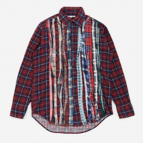 Rebuild Ribbon Flannel Shirt Size Small - Assorted