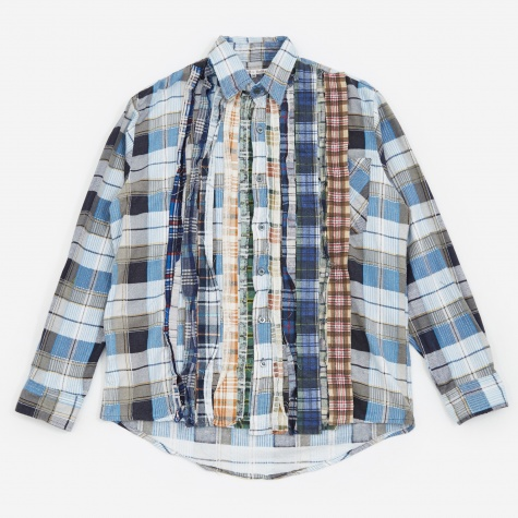 Rebuild Ribbon Flannel Shirt Size Medium - Assorted