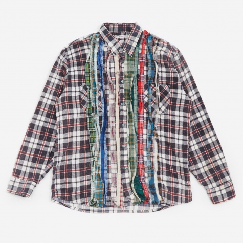 Rebuild Ribbon Flannel Shirt Size Large - Assorted