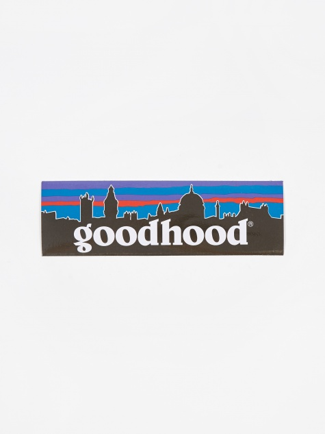 Goodhood City Sticker