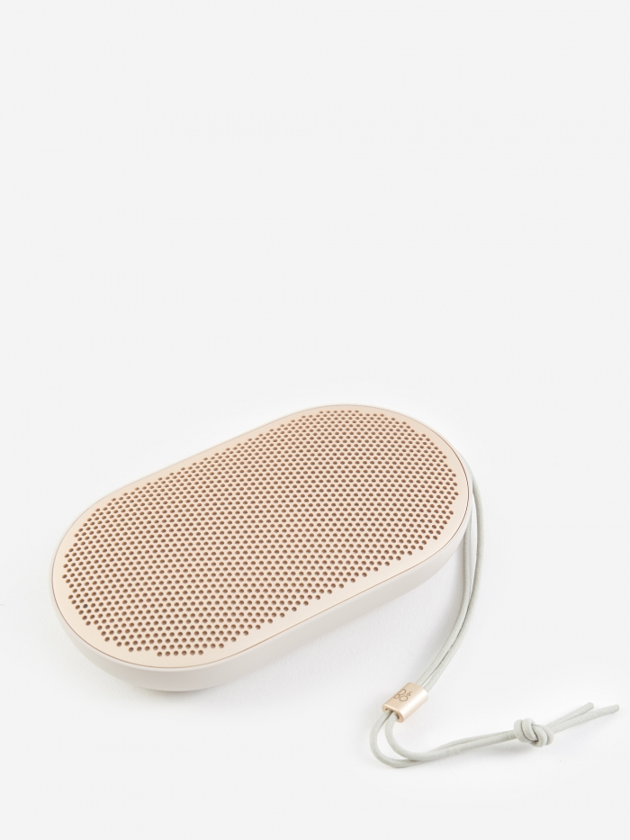 B&O PLAY P2 Portable Bluetooth Speaker - Sandstone (Image 1)