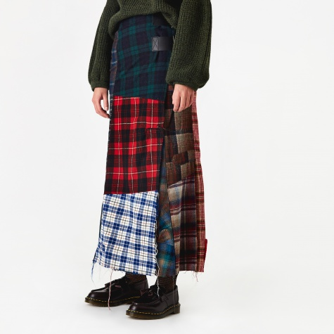 Pendleton Shirt Wrap Skirt - Assorted