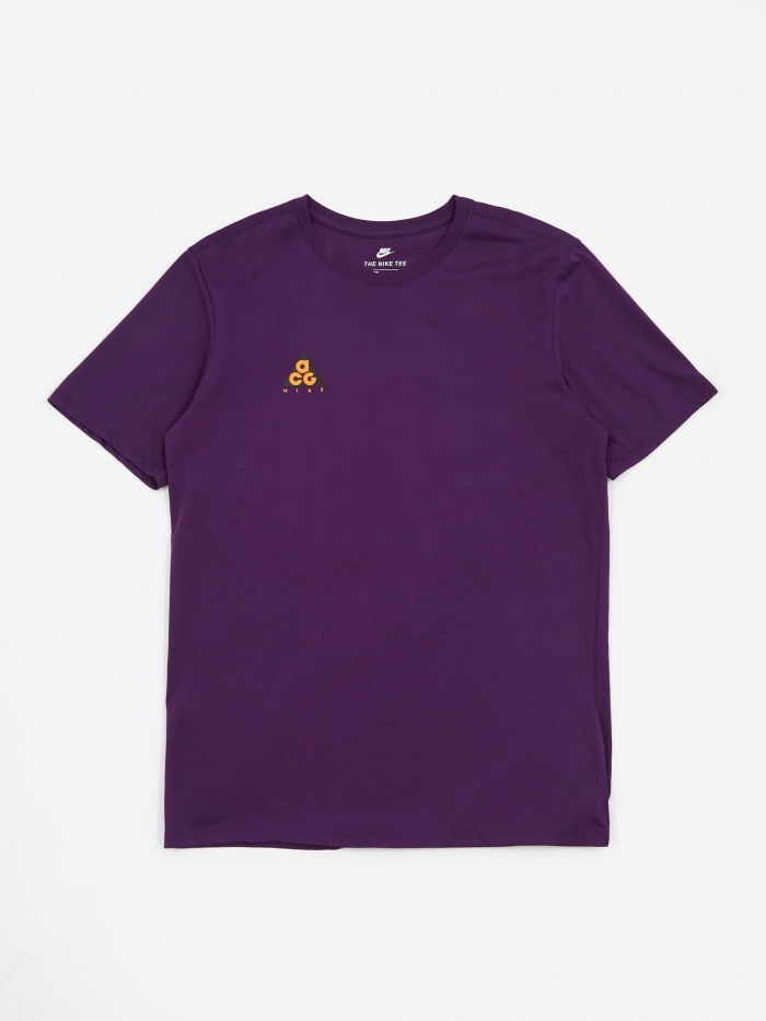 Nike ACG T-Shirt - Night Purple/Bright Mandarin (Image 1)