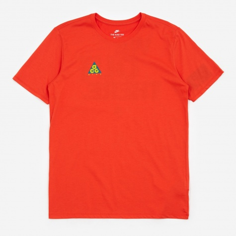 ACG T-Shirt - Habanero Red/Bright Citron