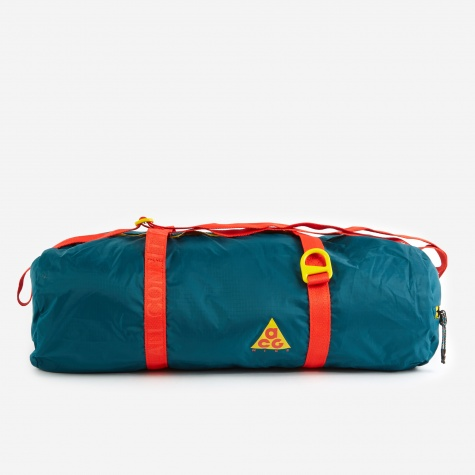 ACG Packable Duffle Bag - Teal/Red