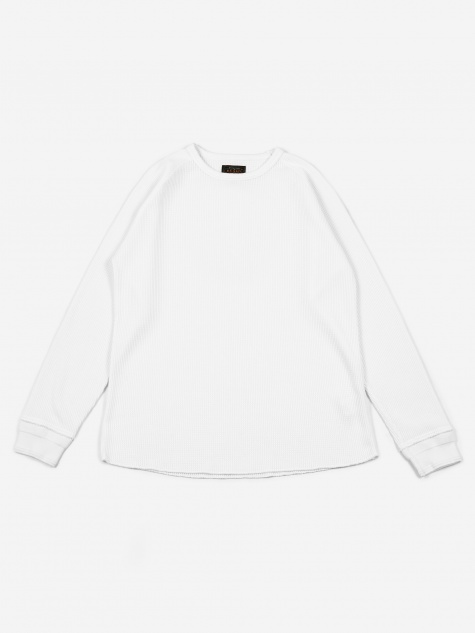 Thermal Crewneck T-Shirt - White