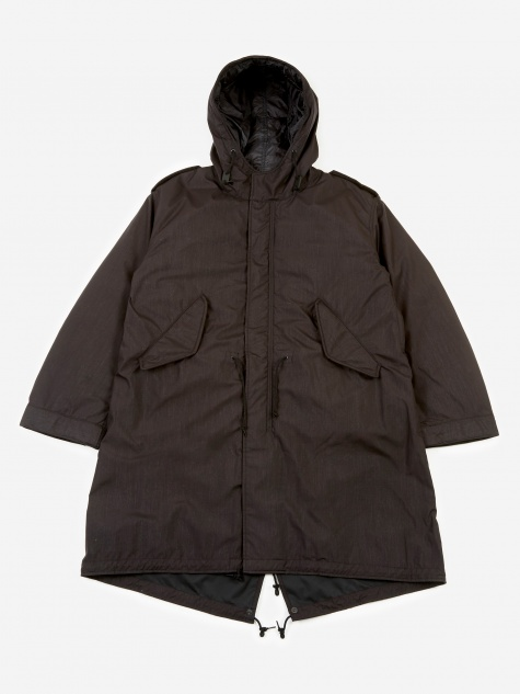 M-51 Down Parka Coat - Black