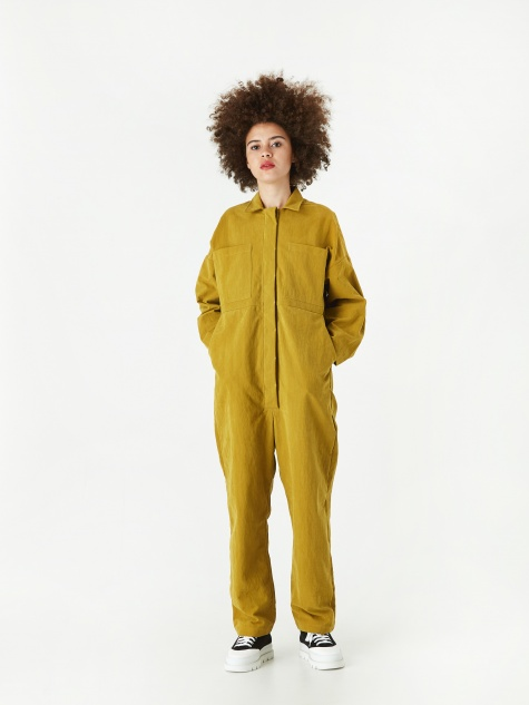 Anne Epic Jumpsuit - Mustard