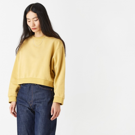 Pam Cropped Sweater - Ochre