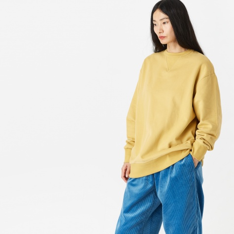Tom Crewneck Sweatshirt - Ochre