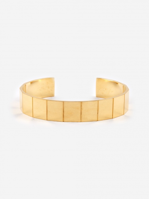 Atlas Bracelet (L) - 18K Gold Plated