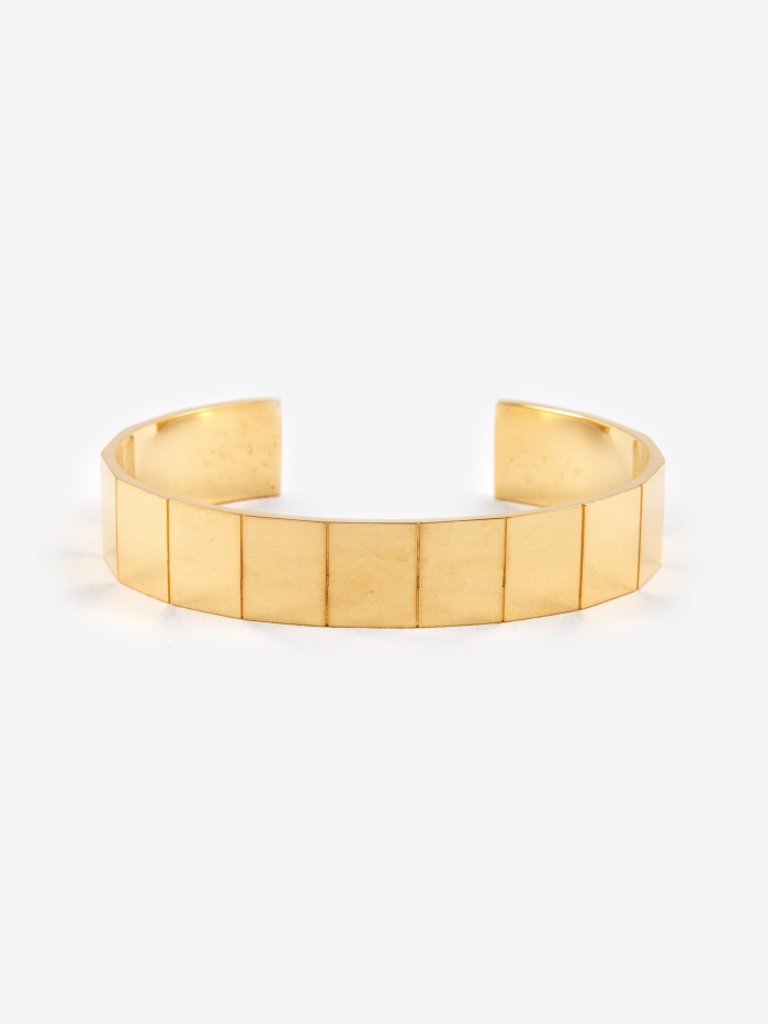 The Boyscouts Atlas Bracelet (L) - 18K Gold Plated (Image 1)
