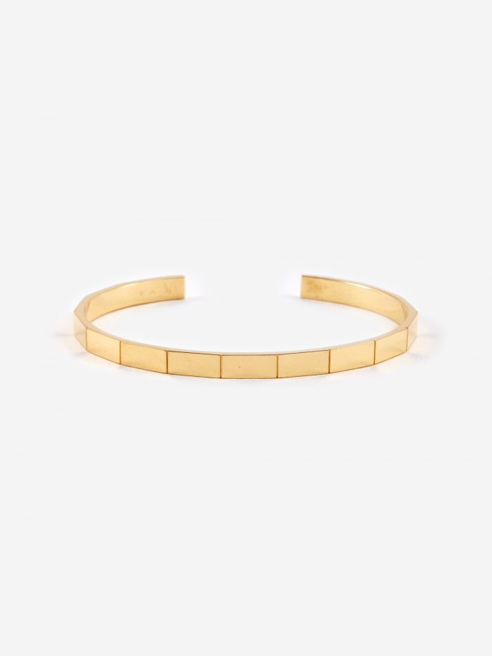 The Boyscouts Atlas Bracelet (S) - 18K Gold Plated (Image 1)