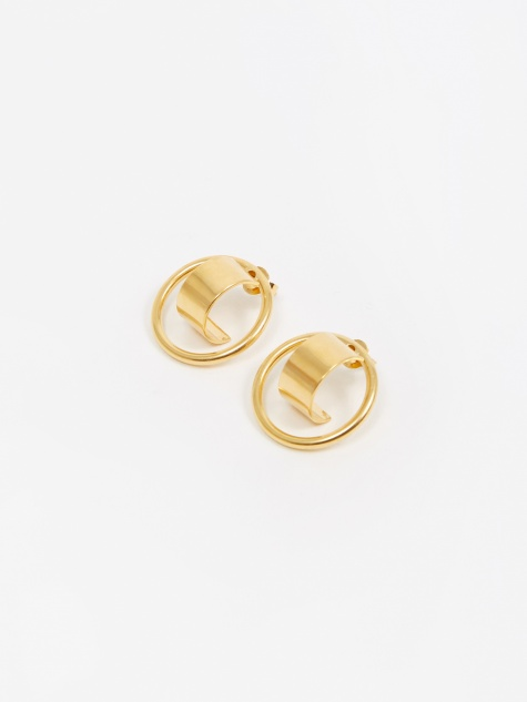 Atlas Earring (Pair) - Gold Plated