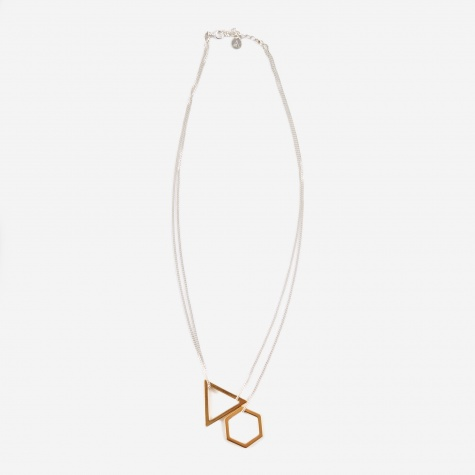Cosmic Necklace - 18K Gold Plated
